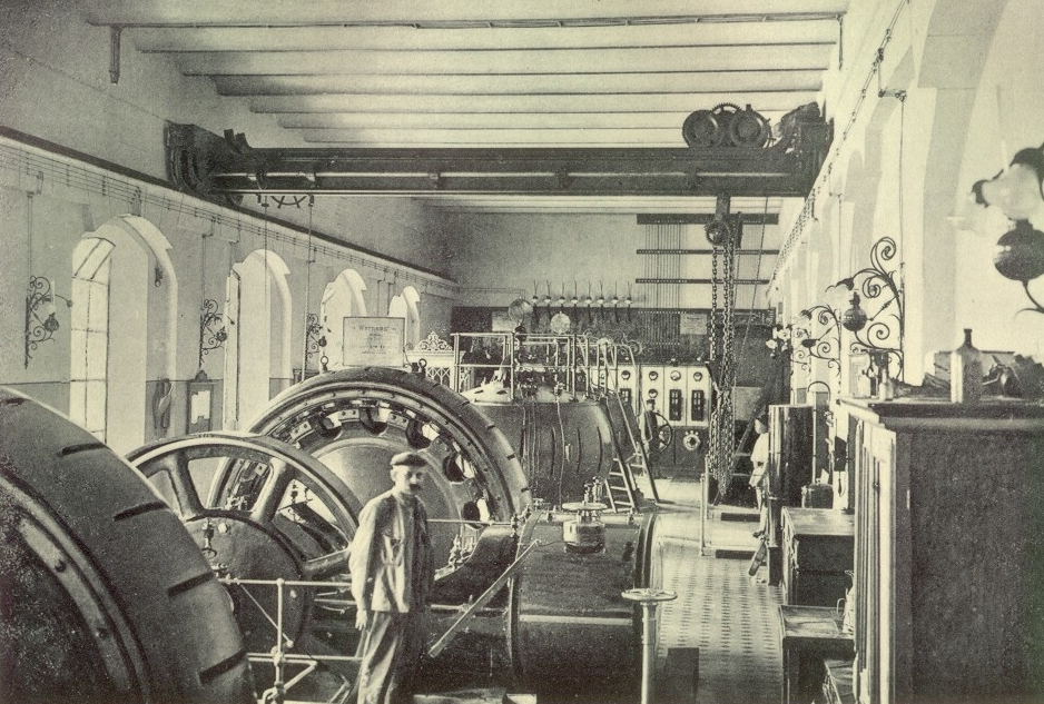 Foto interior centrala Sadu I vechi (1)