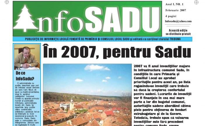 Info Sadu nr. 1 Februarie 2007