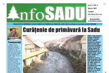 Info Sadu nr.2 Martie 2007