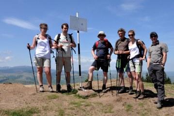 Spre vârful Măgura Cisnădiei (1304 m)